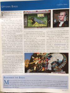 Audubon Mural Project article